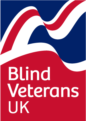 Blind Veterans UK badge